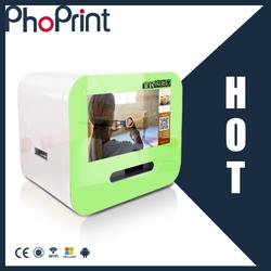 "18.5"" 21.5"" colorful advertising photo printer machine mini portable Wechat Photo Printer remote-control LCD AD Player vending"