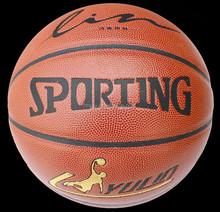 cheap pu leather baskets ball