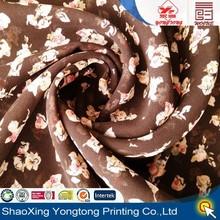 2015 polyester fabric chiffon hot selling for sexy women garment