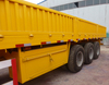 China High Quality 3 Axles 40Tons Cargo Trailer with panel