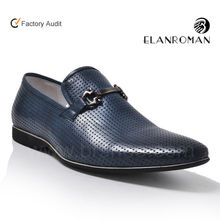 New top brand men leather shoe