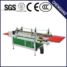 pvc apet transparent square box folding and gluing machine