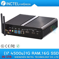 I7 core gsm mini pc with intel haswell 4500u 4650u 12v to 19v wide voltage diskless boot WOL 1G RAM 16G SSD