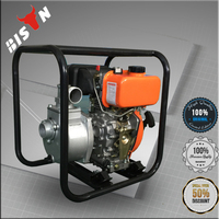 BISON China Taizhou 5.5hp 1.5inch Portable High Pressure Water Pump for Car Washing