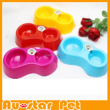 Pet Accessories, Water or Food Bowls Double Bowls Pet Feeder