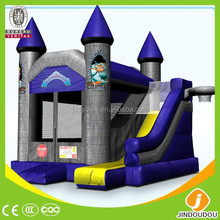 Hot EN14960 commercial outdoor combo inflatable bouncy castel beds for kids
