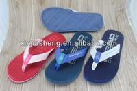 2014 sandles custom printed flip flops men house slippers