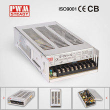 Steady CE approved S-201-27 led power supply with ac to dc conversion