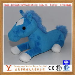 Promotional item plush stuffed horse toys candy bag with bottom zipper