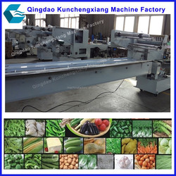 Automatic Fresh fruit and vegetable tray packing machine