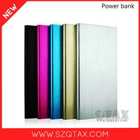 buy direct from china factory aluminium dual USB port universal 5v li-ion battery pack 10000mah with led indicator