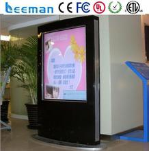 lcd digital display advertising Leeman P4.81 SMD hd screen advertising player with touch function