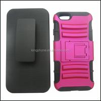 Alibaba wholesale plastic clip back + sliding sleeve for iphone 6 4.7 mobile phone case