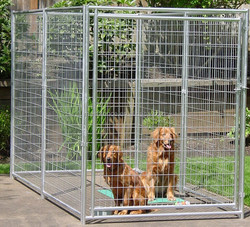 heavier tubing and heavy wire mesh panels high quality guaranteed dog kennels for sale