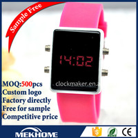 2014 New Style Silicon xxcom Watches LED Wrist Watch