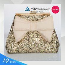 Fabric Personalized Design Patent Beige Handbags Ladies