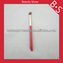 Oblique handle angled cosmetic eye brow brush free sample,eye brow makeup/cosmetic brush,made in china
