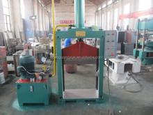 factory hydraulic reclaimed rubber sheet cutting machine