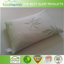 Hot selling memory foam bamboo pillow