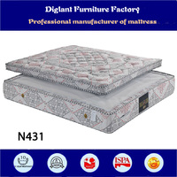 Vacuum pack mattress bags for two bed mattress