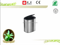 Hot indoor ss pail recycling bin stand 8L