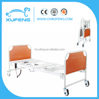 XF841 Transportable Two function foldable eletric hospital bed