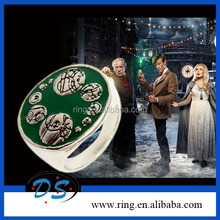Dr Who THE SOUND OF DRUMS SAXON'S RING THE MASTER'S RING