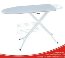 House use mesh top adjustable ironing board