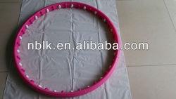 plastic sport magnetic massage ball hula hoops