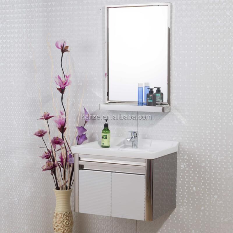 Direto da fábrica estilo gabinete toalha quente SS vaidade do banheiroPentea -> Cuba Para Banheiro Direto Da Fabrica