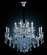 Modern antique silver crystal light chandeliers
