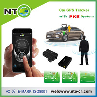 Smart GPS Vehicle tracker for car with Engine start function and PKE system with Android and IOS APP gps tracker