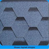 asphalt fiberglass shingle for roofs in China