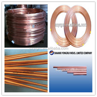 PVC Coated Copper Tube or Copper Corrugated Tube