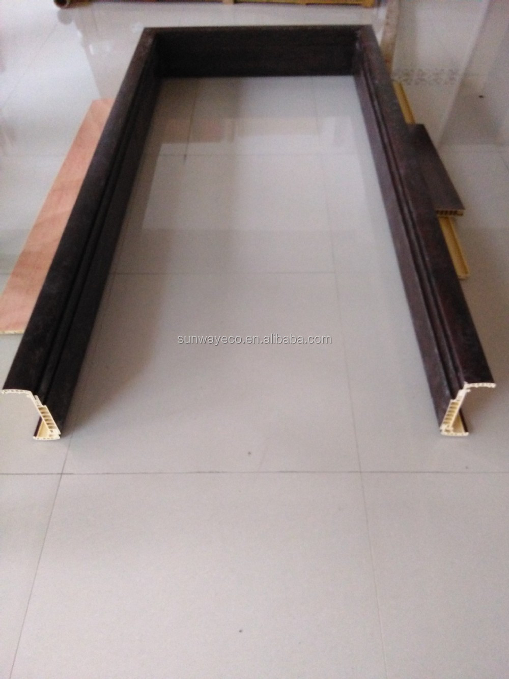 Pvc Door Frame Detail : Waterproof wpc door frame cladding pvc buy