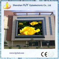 mexico express p10 outdoor led glow sign board for advertising