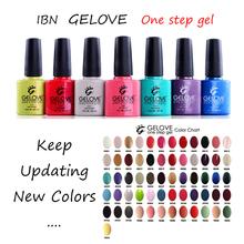 natural fascinating nails color one step gel polish