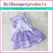 Wholesale high quality fashion lovely wedding dog dress