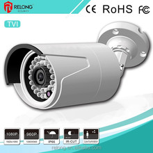 2.0MP 1080P vandalproof&waterproof Day&Night surveillance TVI security bullet camera