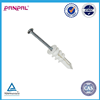 WENZHOU manufacturer supply Self-Drilling Drywall Anchor with Screws, Glass-Filled Nylon, Made in China