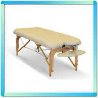 Oufan Reikistar-II Wooden Massage Table with 6cm foam sponge