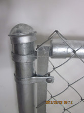 High tensile strength stainless steel chain link fence