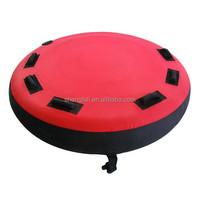 Durable pvc inflatable water sports ski tube
