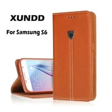 Genuine Leather Phone Case For Samsung Galaxy S6,For Samsung Galaxy S6 Case