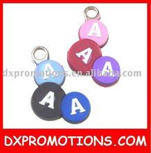 pvc zipper puller/rubber zipper slider/soft pvc zipper pull