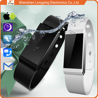 2015 shenzhen bluetooth wristband waterproof support iOS and Android watch phone