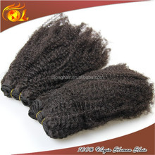 Factory price cheap brazilian braiding human afro kinky hair
