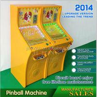 Attractive hot sale pinball machine kit for kids
