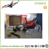 2015 Top Quality!Remote Control Electric Car with LED RC Stunt car 5 wheel children car
