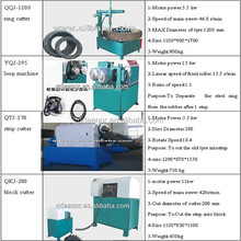 hot sale knife cut tires/radial tyres cutting machine